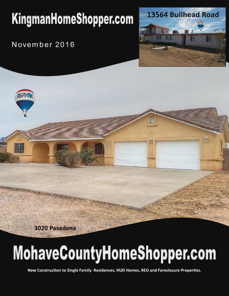 Mohave County Home Shopper November 2016
