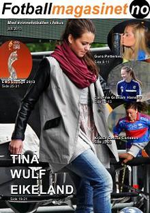 FotballMagasinet - Kvinnefotballen i fokus