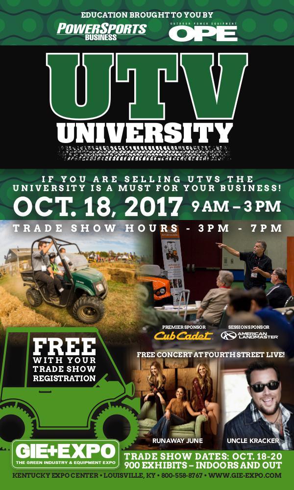 UTV University 2017