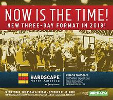 Hardscape North America Exhibitor Information