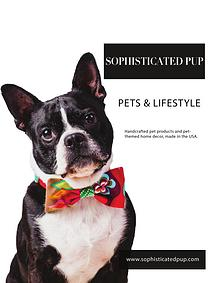 Sophisticated Pup Wholesale Catalog 2016