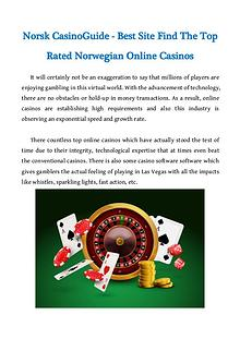 Norsk CasinoGuide - Best Site Find The Top Rated Norwegian Online Cas