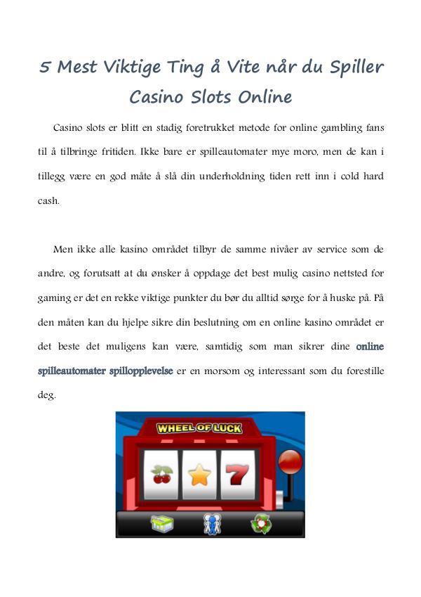 online slots de book casino