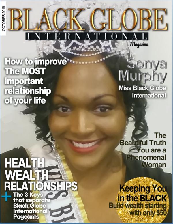Black Globe International Magazine Oct 2019 2019-10 Black Globe International Magazine Vol 201