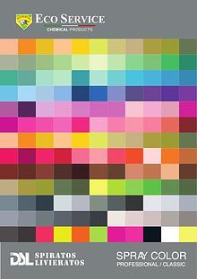 Spray colours - DSL