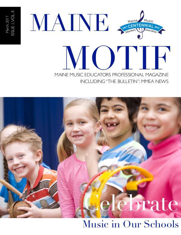 Maine Motif Issue 2 Volume I