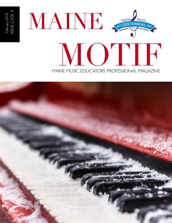 Maine Motif Issue 2, Vol. II (Winter, 2018)