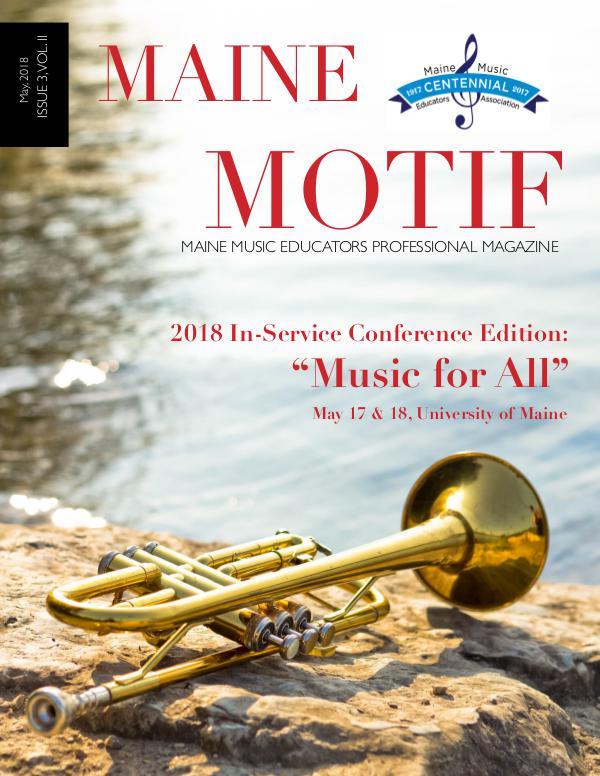 Maine Motif Issue 3, Vol. II (Spring 2018)