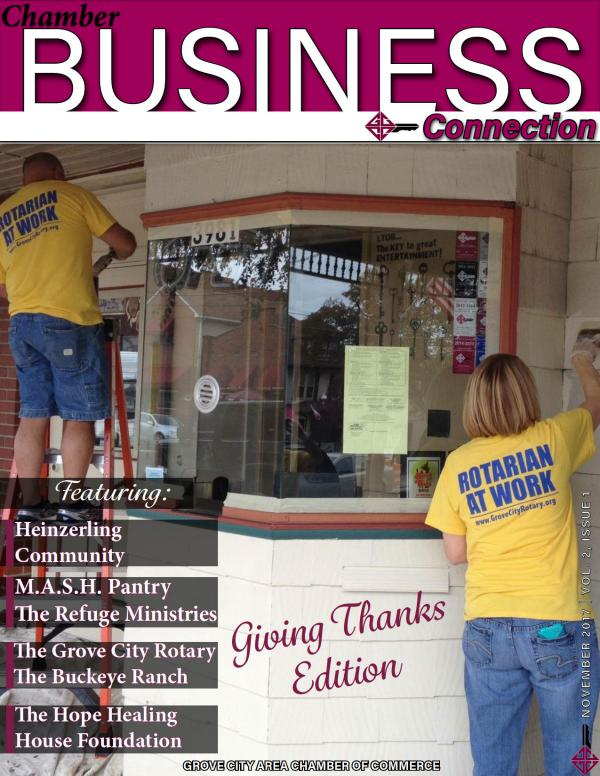 Chamber Business Connection Vol. 2, Issue 1