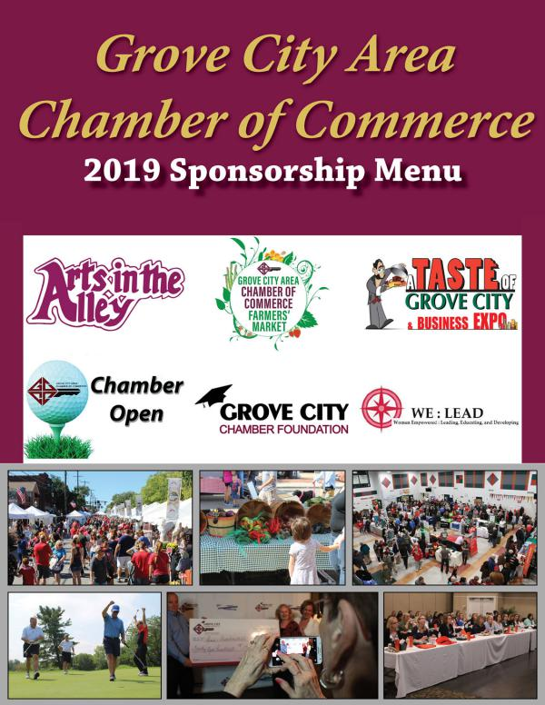 2019 Sponsorship Menu