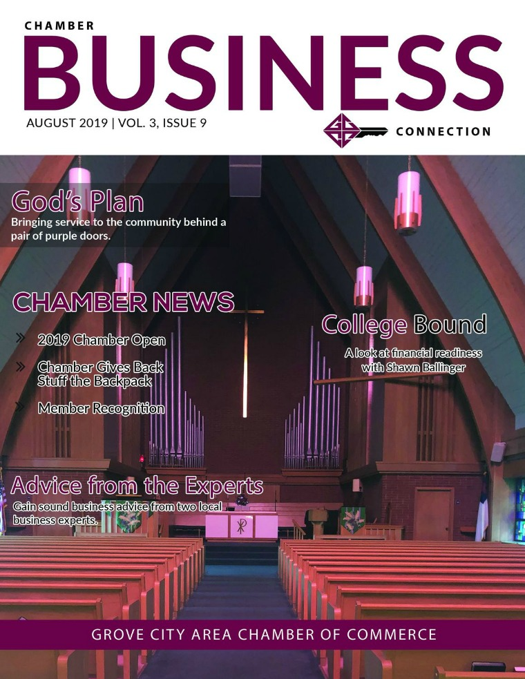 Chamber Business Connection CBC Volume3, Issue 9