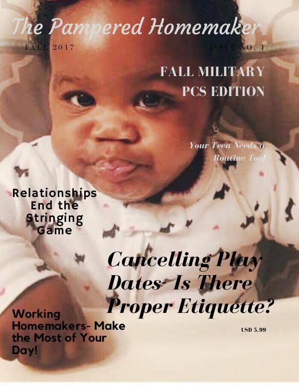 The Pampered Homemaker October 2017 Issue 1