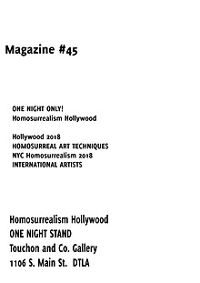 Homosurrealism Magazine 44 NYC