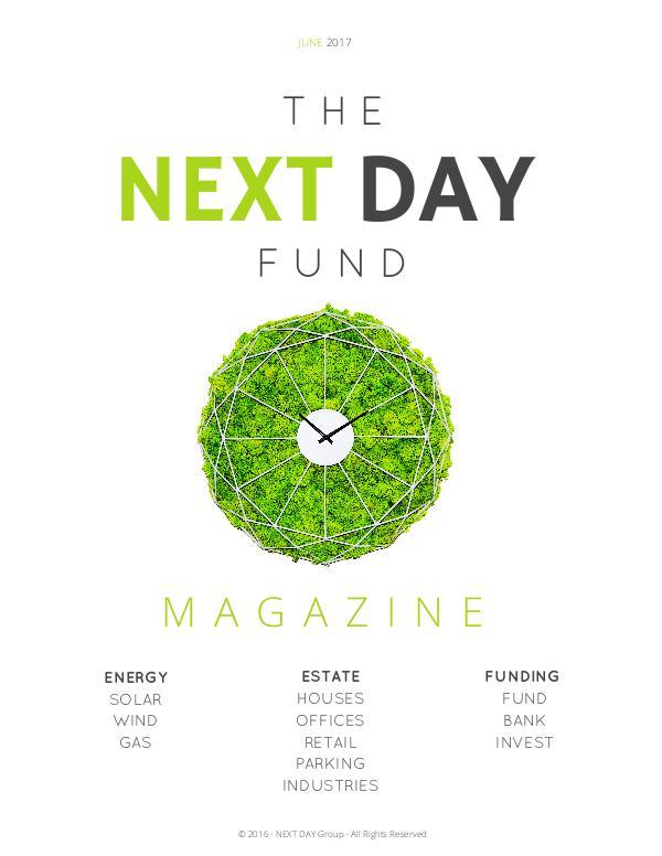 The Next Day Fund Magazine NEXT DAY FUND MAG - 2017-3