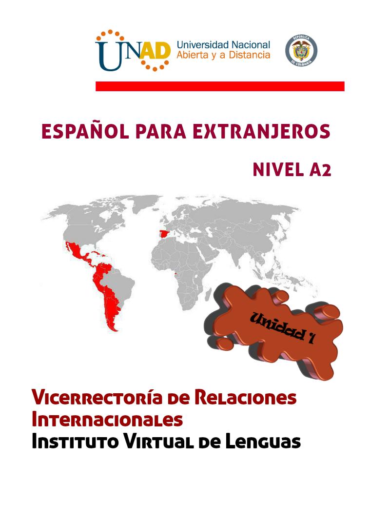 Español A2 Unidad 1