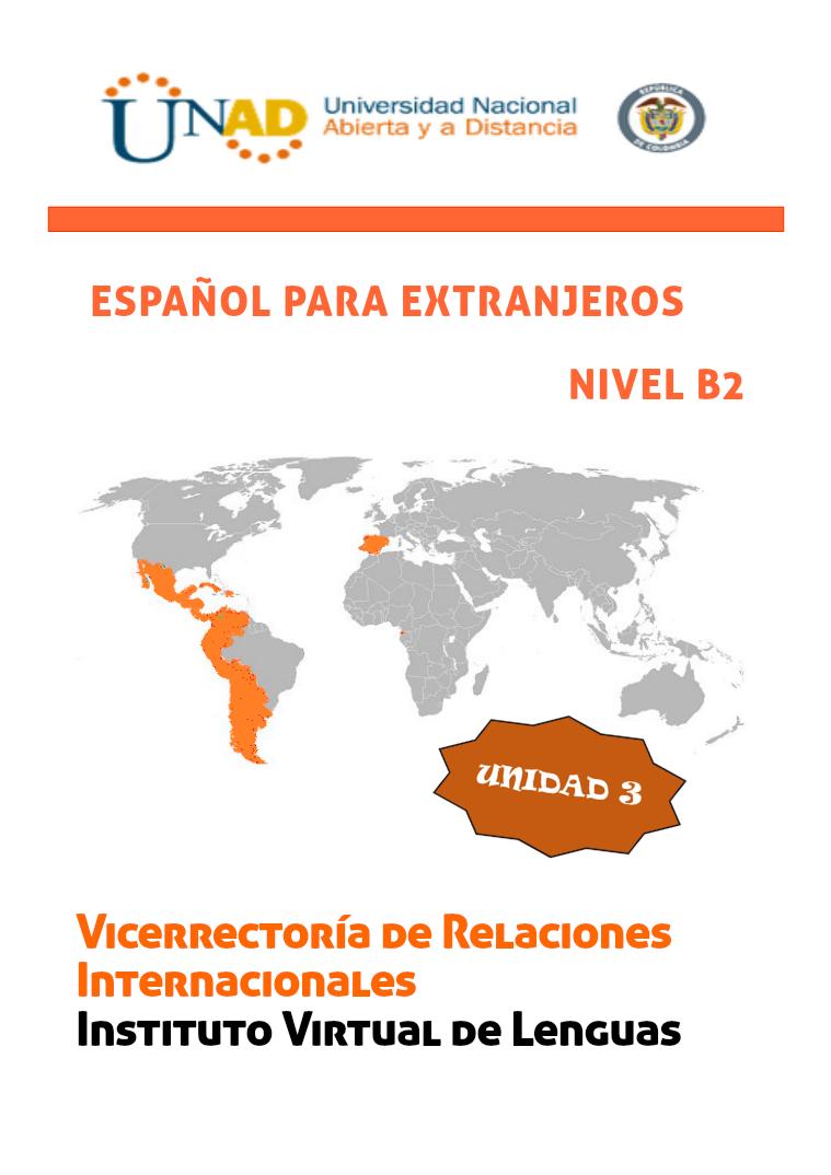 Español B2 Unidad 3