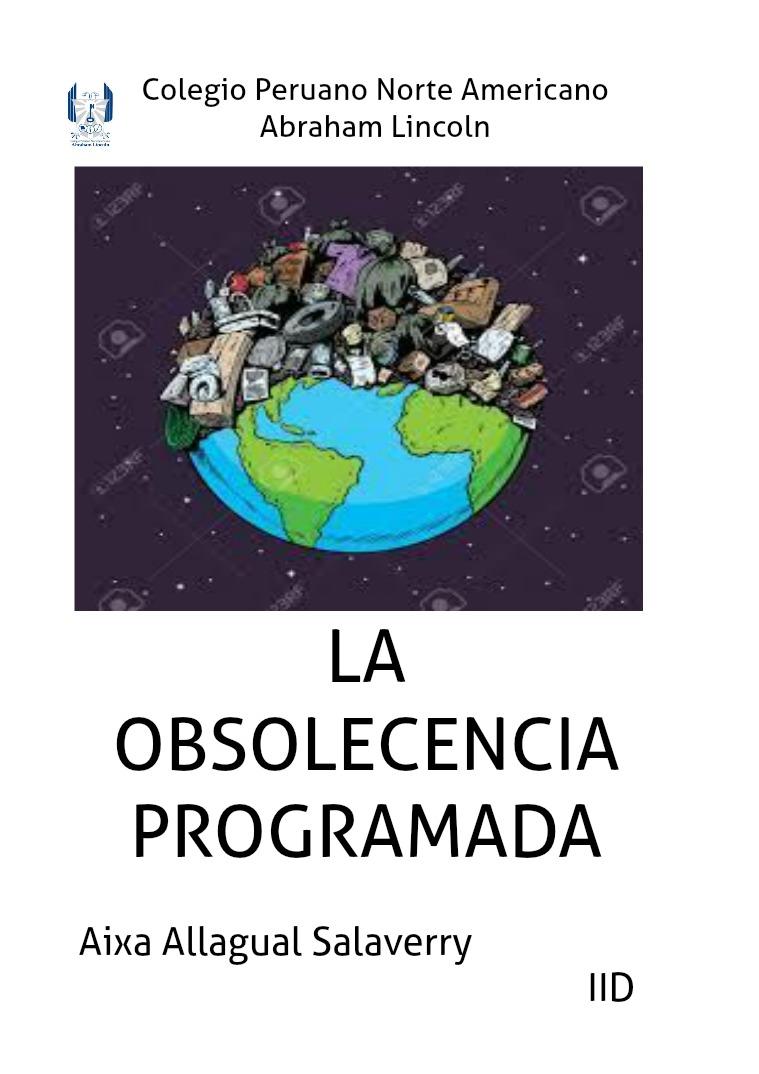obsolecencia programada aixa