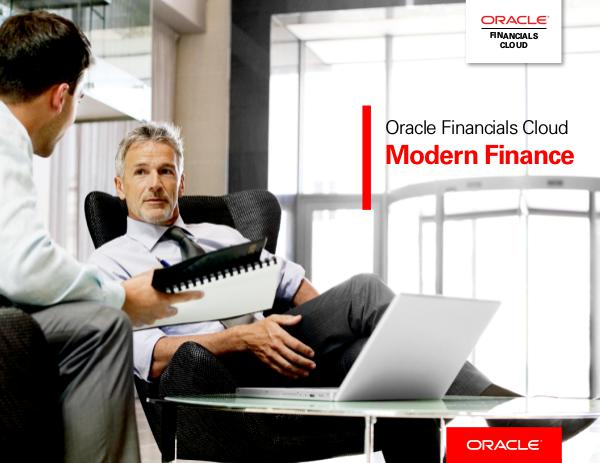 Oracle Financials Cloud: Modern Finance 1