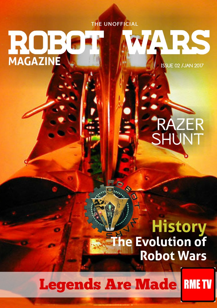 ROBOT WARS Unofficial Magazine issue 2/Jan2017