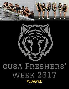 Freshers' Week 2017 Magazine