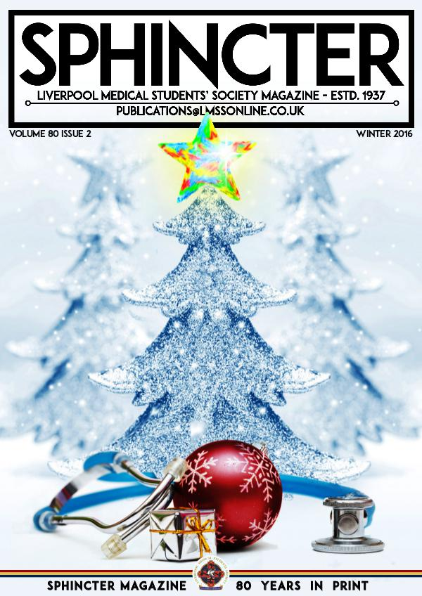 LMSS SPHINCTER vol.80 iss.2 Winter Issue