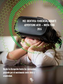 MEC IDENTIFICA TENDENCIAS DURANTE ADVERTISING WEEK – NUEVA YORK