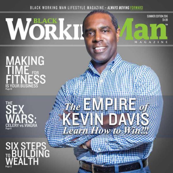 Black Working Man Lifestyle Magazine BWM Lifestyle Magazine - Premier Issue