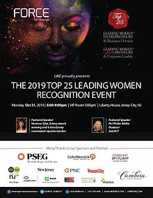 2019 Top 25 Leading Women Recognition Event Program