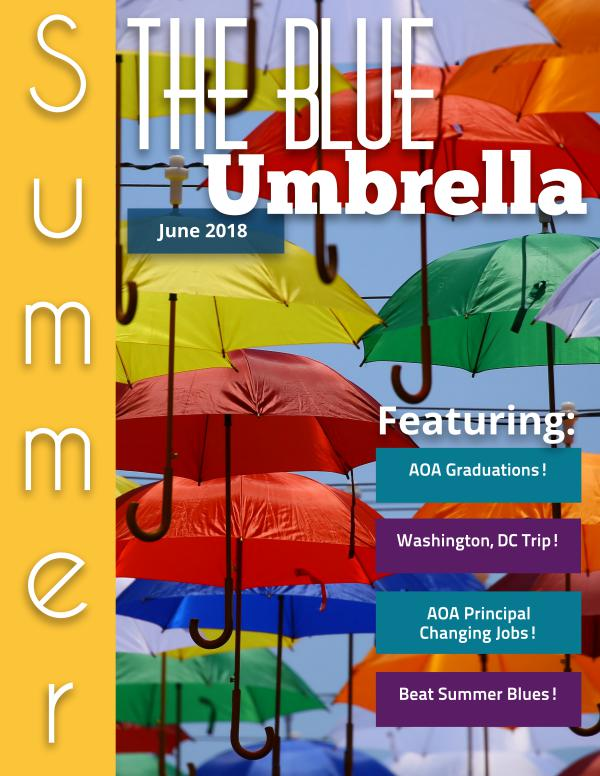 Blue Umbrella Official Blue Umbrella Summer Issue