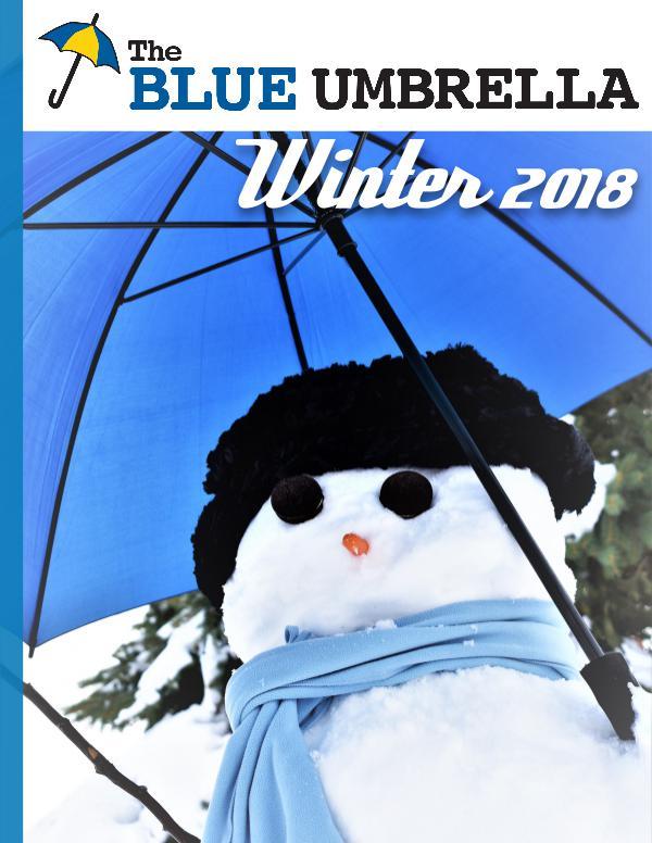 Blue Umbrella Winter 2018 Issue