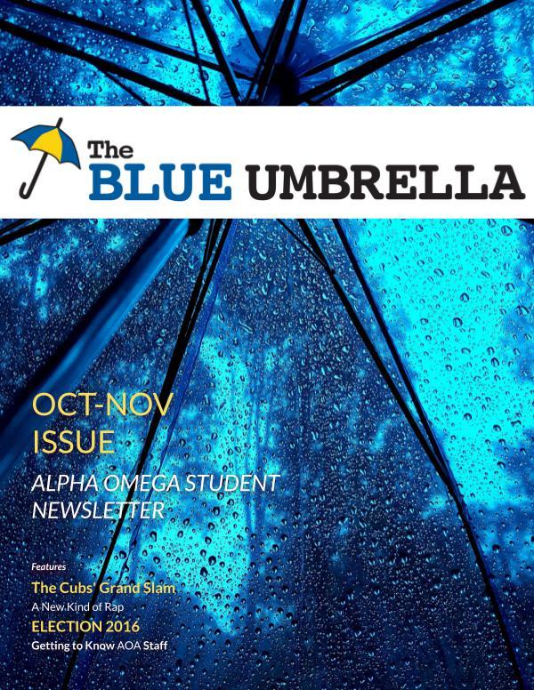 Blue Umbrella Official November 2016 Issue Joomag Newsstand