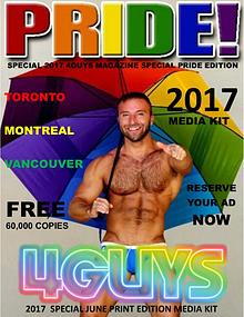 2017 4GUYS  Special PRIDE Media Kit