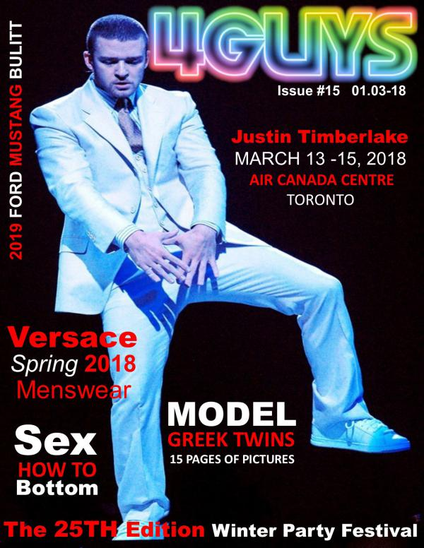 March 2018  Issue #15 March 2018 Issue #15, 4GUYS