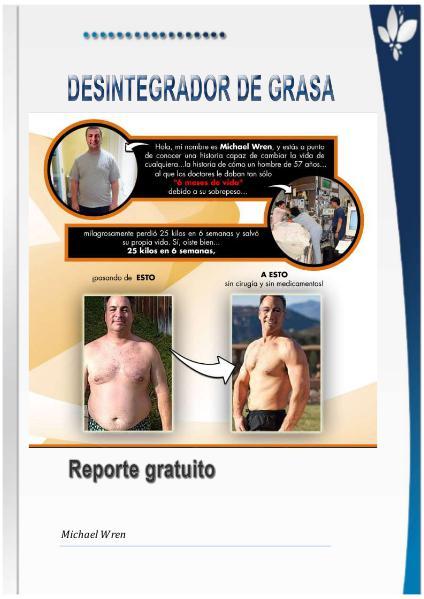 Perder grasa sin hacer dieta es posible Sep. 2016