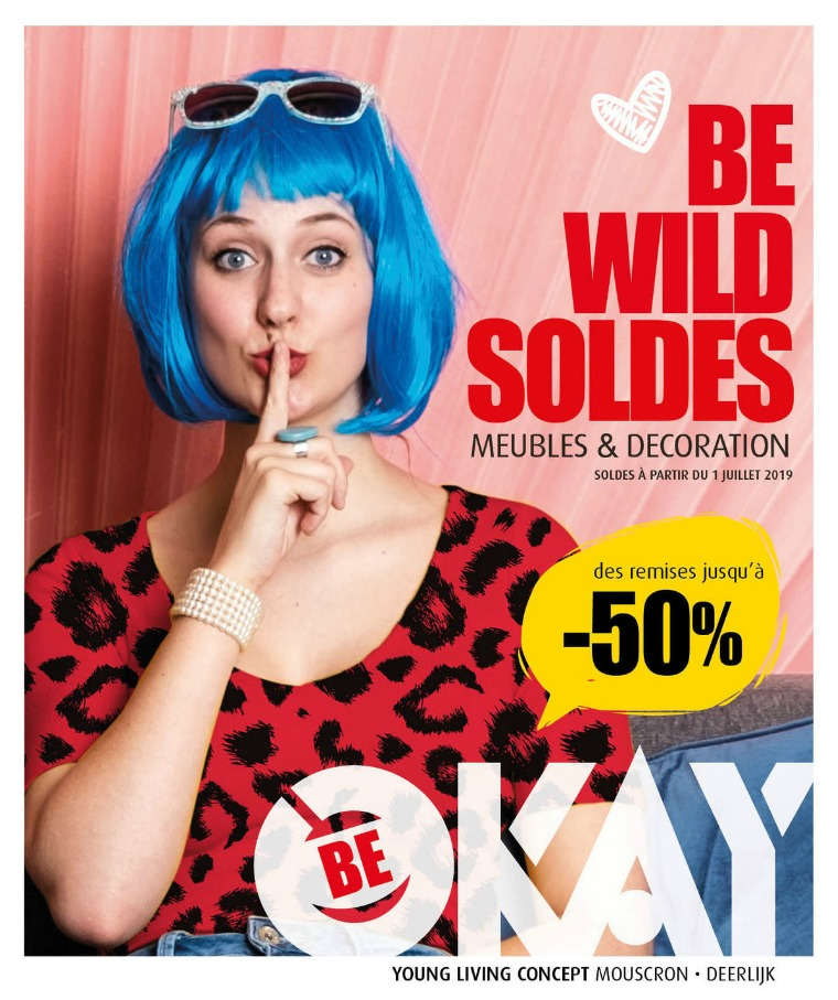 ZOMERSOLDEN 2019 BE-OKAY SOLDES 2019