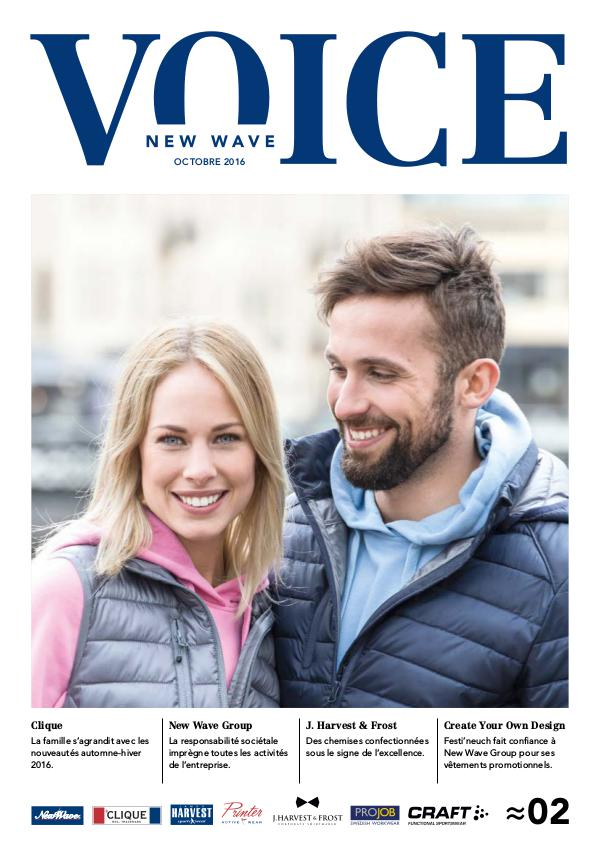 New Wave Switzerland New Wave Voice Nr2 (Octobre 2016) - FR