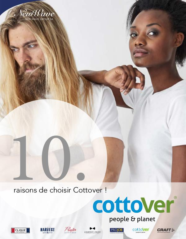 New Wave Switzerland 10. Brochure Cottover FR