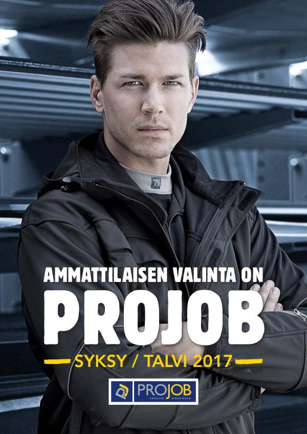 Projob -työvaatteet Syksy 2017