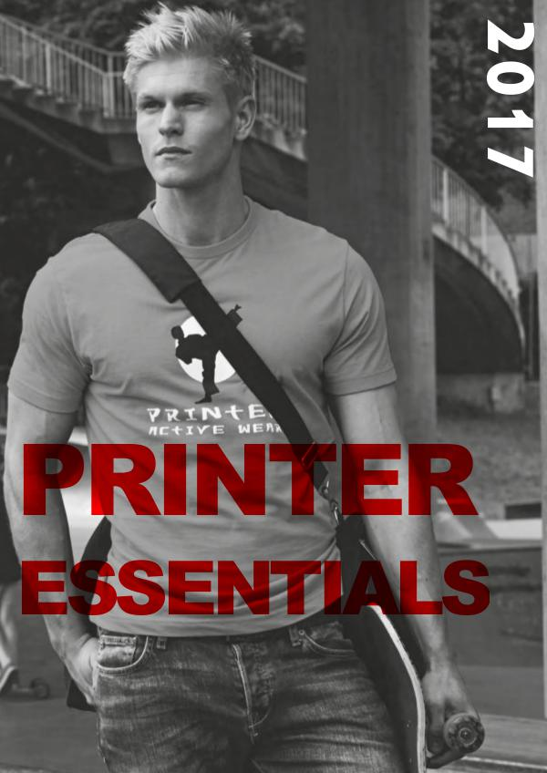 TEXET FRANCE WINTER COLLECTION 17 PRINTER ESSENTIALS 2017