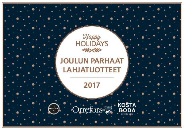 Sagaform & OKB - Joulun Parhaat Lahjat 2017 R