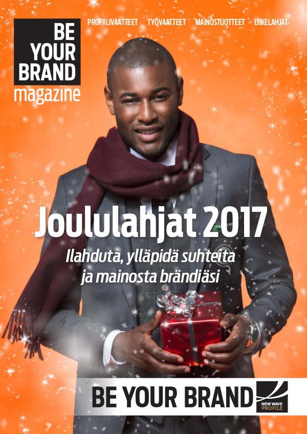 New Wave Profile FI BE YOUR BRAND Joulukuvasto 2017