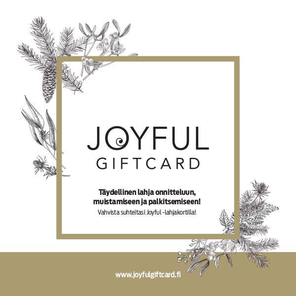 New Wave Finland JOYFUL -lahjakortti Joulu 2017
