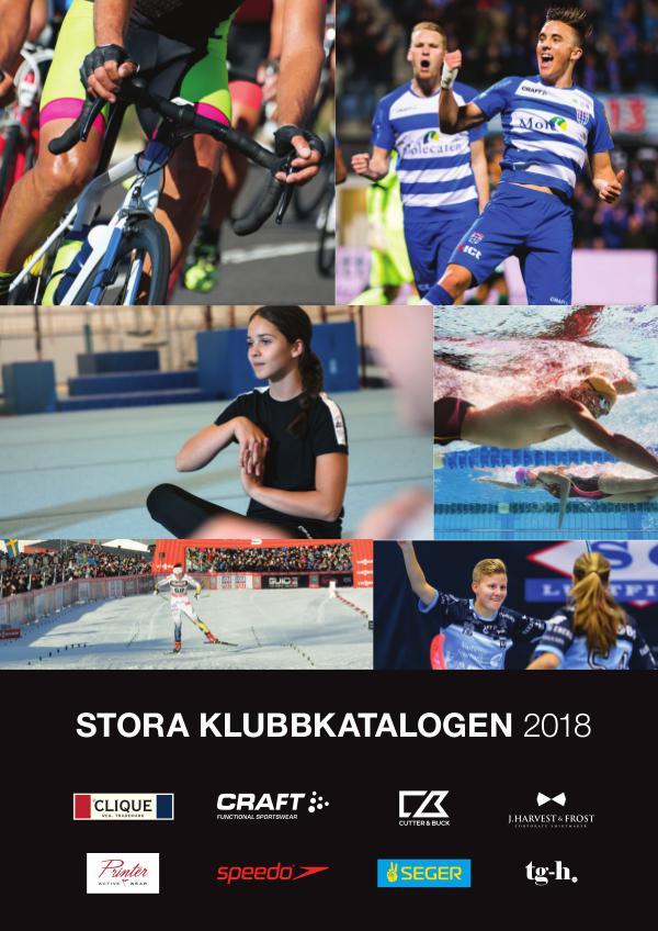 NWG CLUB CATALOGUE 2018 Stora Klubbkatalogen 2018