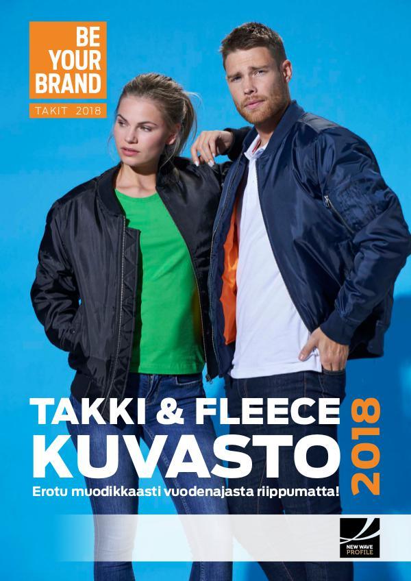 TAKKI- & FLEECEKUVASTO TALVI / KEVÄT 2018