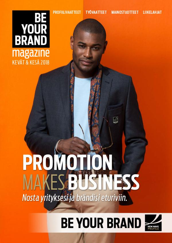New Wave Profile FI - Be Your Brand Magazine KEVÄT 2018
