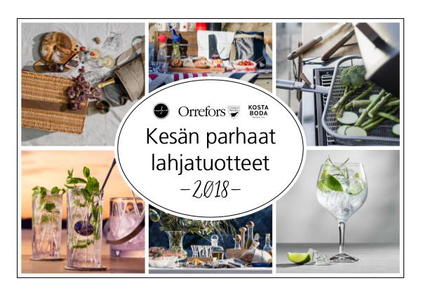 New Wave Finland Kesän parhaat lahjatuotteet 2018