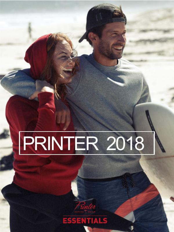 Catalogue PRINTER Essentials 2018 Webshop