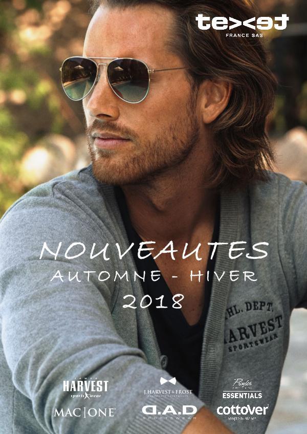 TEXET FRANCE BROCHURE NOUVEAUTES FALL 2018 VF