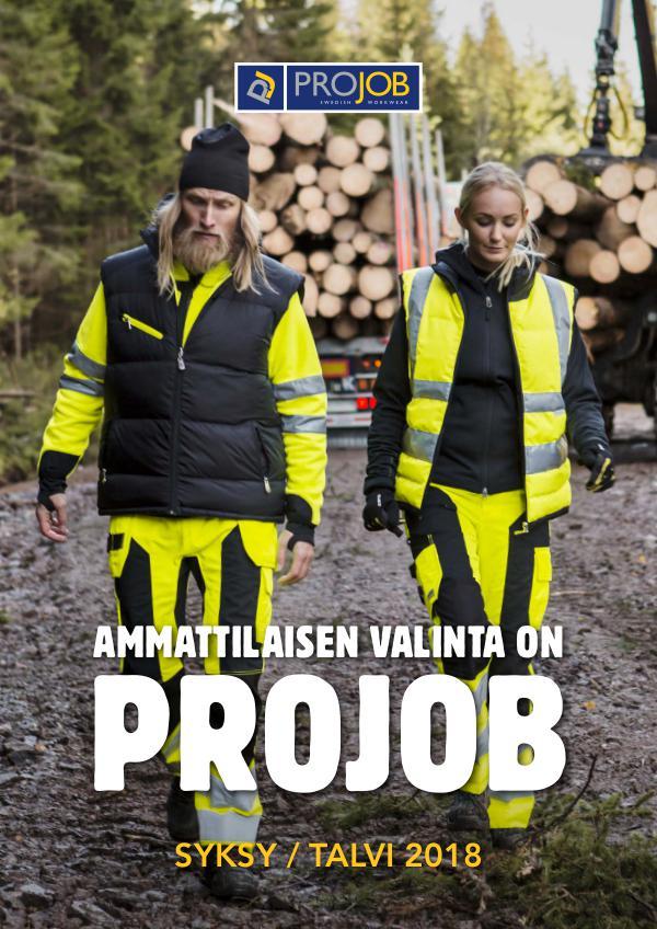 Työvaatteet syksy / talvi 2018 TOP 30