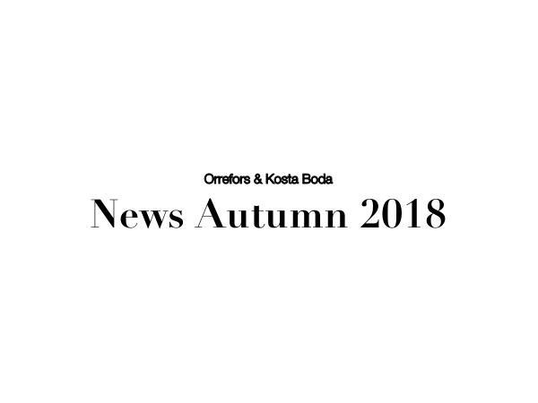 Orrefors Suomi OKB UUTUUDET - syksy / talvi 2018
